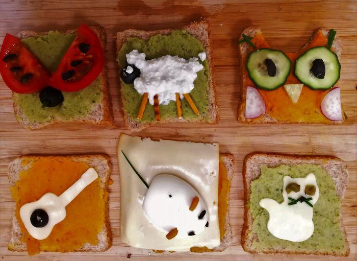 Játékos ételek válogatós gyerekeknek